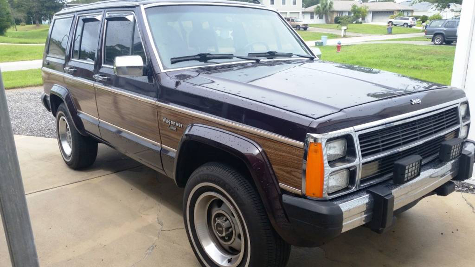 For Sale: Stock-Looking 1990 Jeep Wagoneer With ...