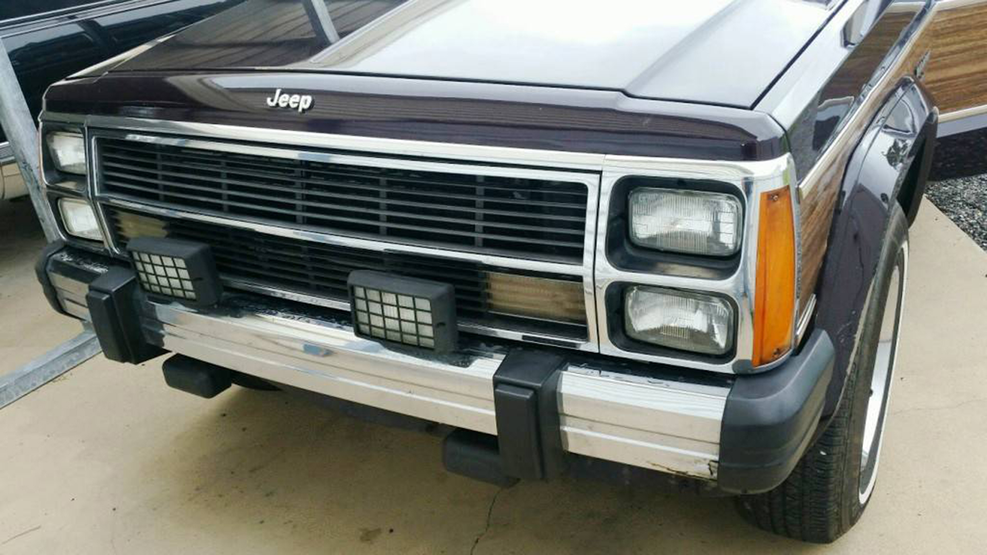 For Sale: Stock-Looking 1990 Jeep Wagoneer With Bulletproof