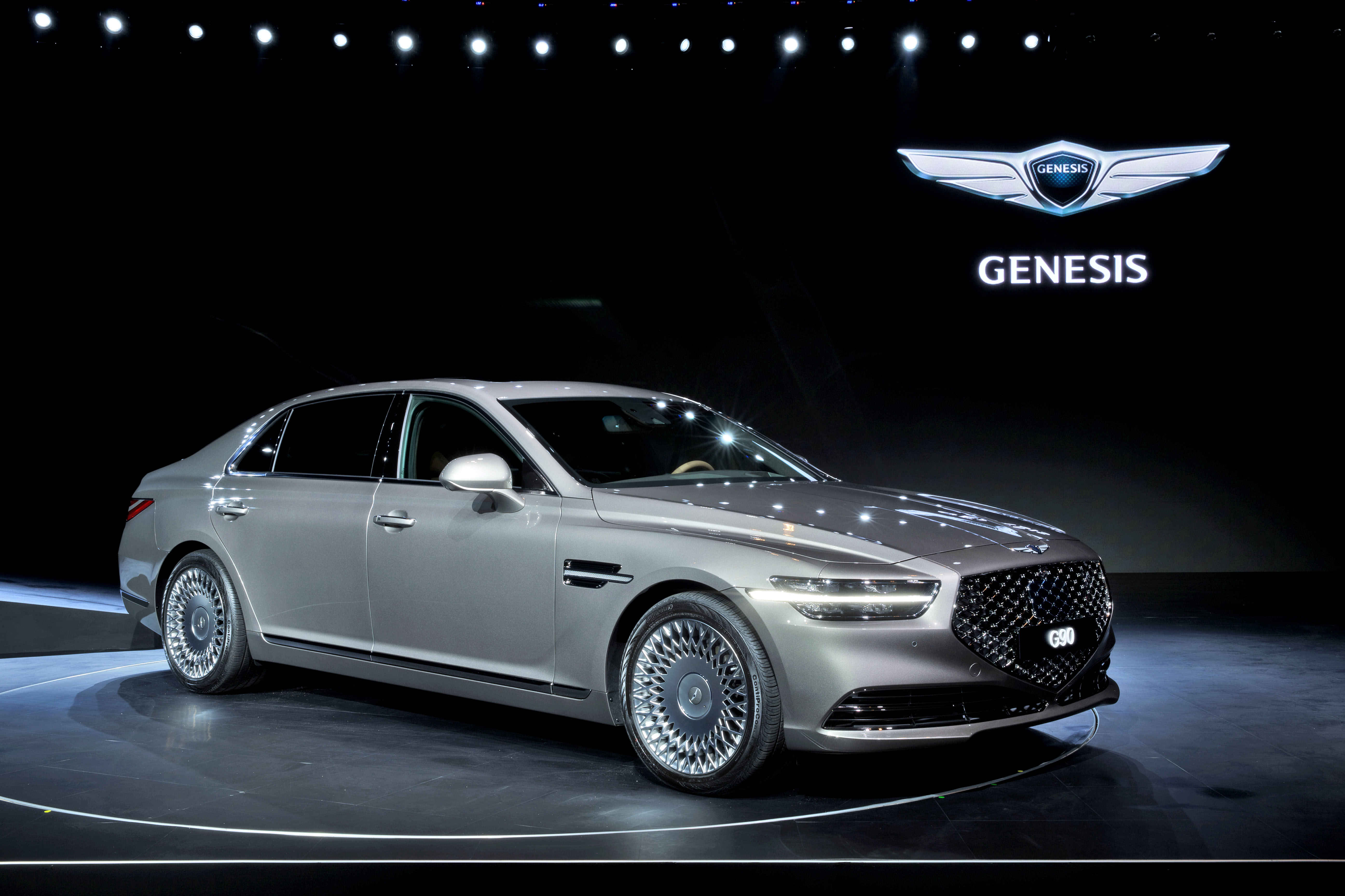 facelifted 2020 genesis g90 luxury flagship sedan unveiled
