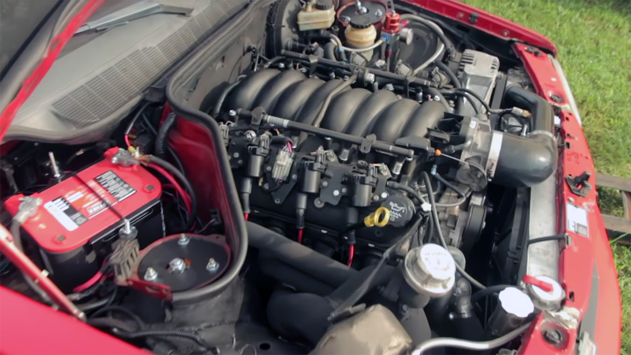 This Turbo LS-Swapped Mercedes-Benz W201 Is a Drag Strip