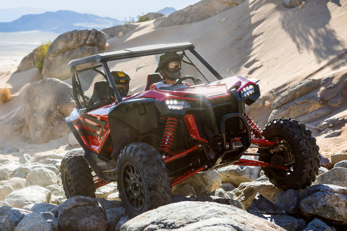 2019 Honda Talon 1000R and 1000X: Big Red Gets Into the