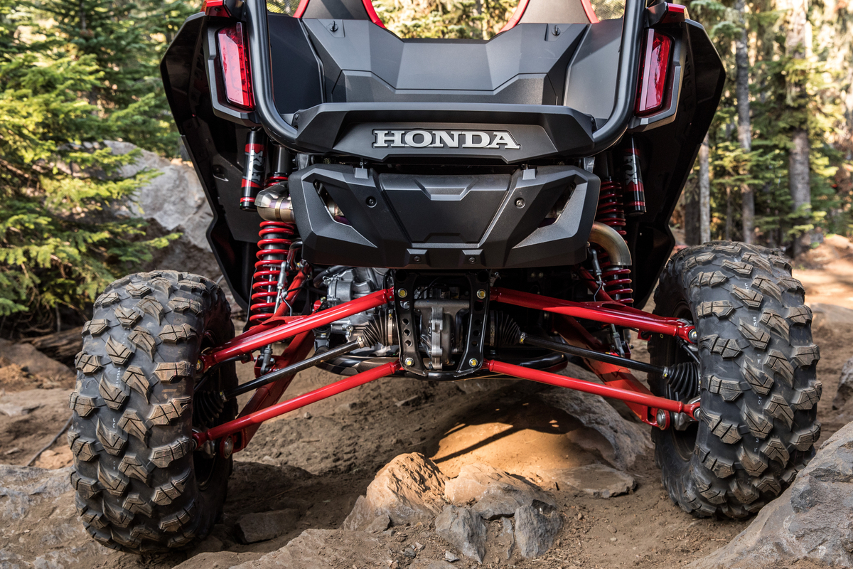 2019 Honda Talon 1000R and 1000X: Big Red Gets Into the Extreme Side