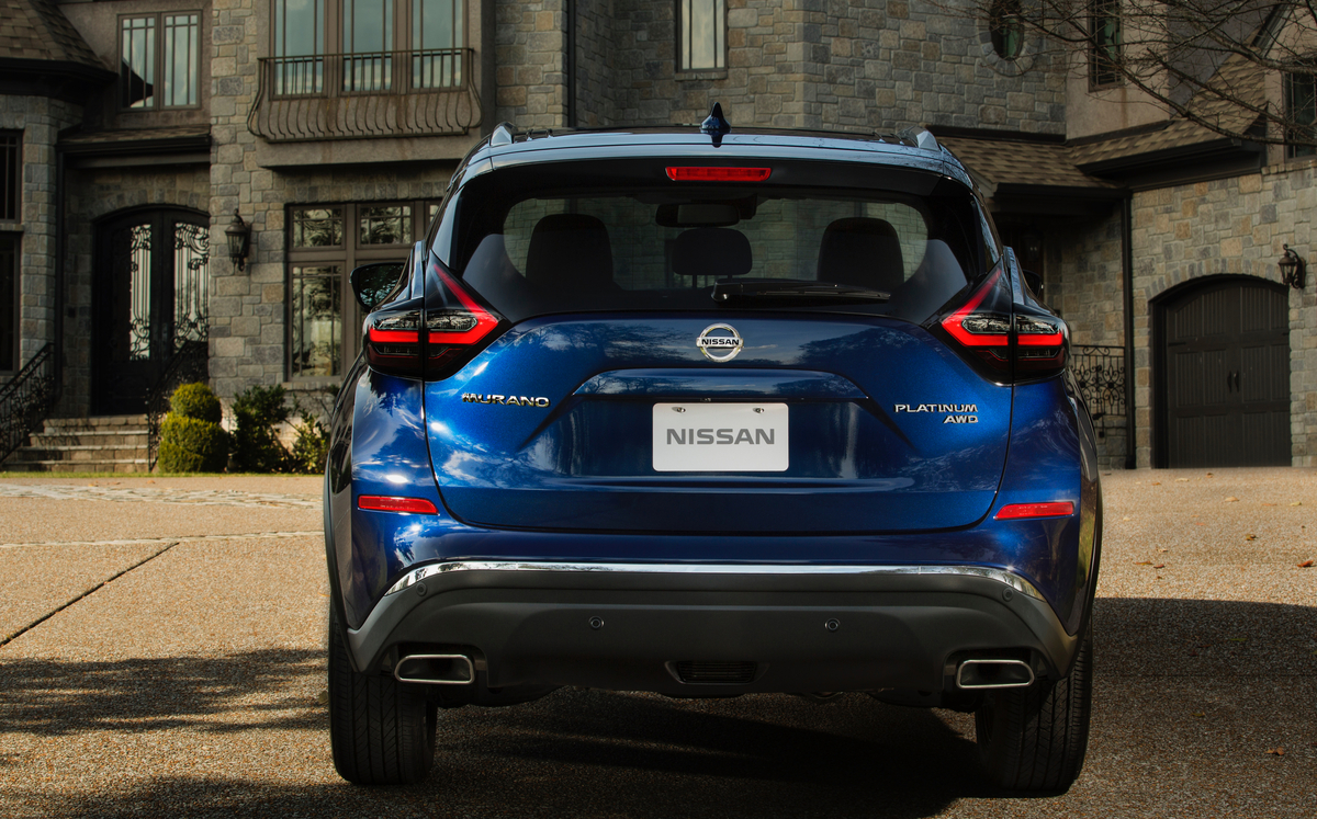 2019 Nissan Murano: Quirky Crossover Receives New Safety ...