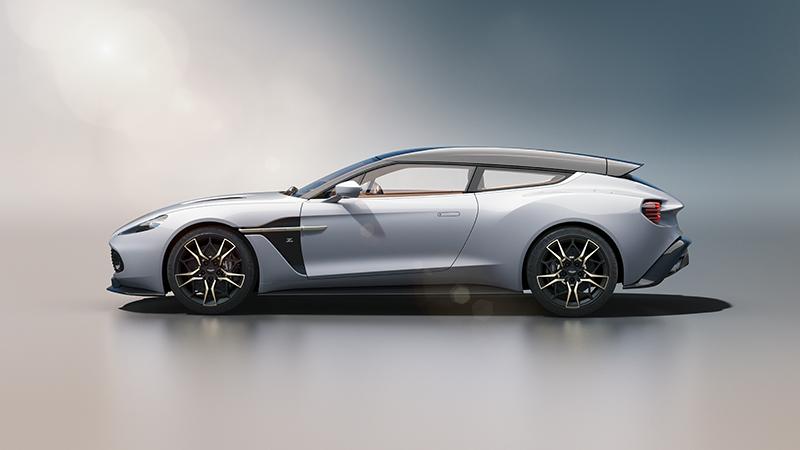 Aston Martin Vanquish Zagato Shooting Brake Arguably The World S Most Beautiful Wagon