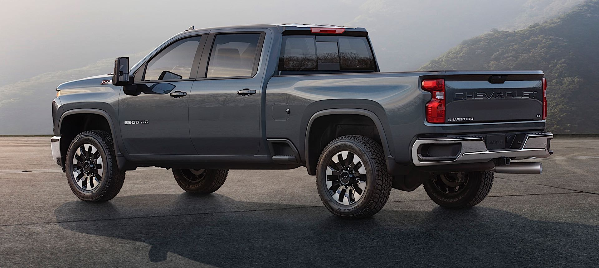 2020 Chevrolet Silverado HD Teased With First Images and Diesel Specs - The Drive