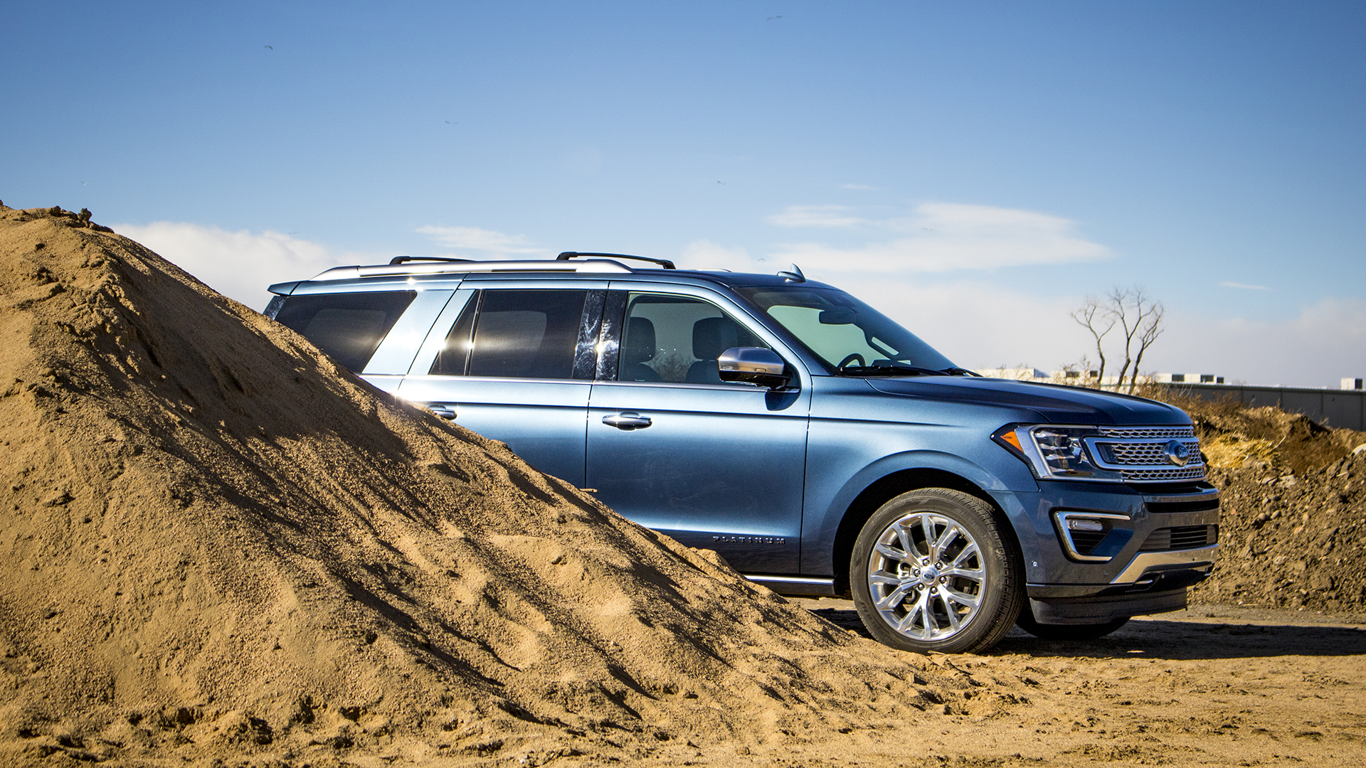 ford expedition platinum test drive review