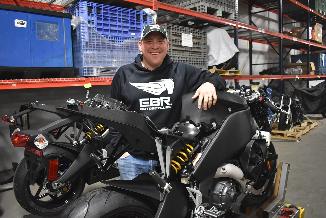 EBR Motorcycles Is Back at It Once Again, but in Very Limited