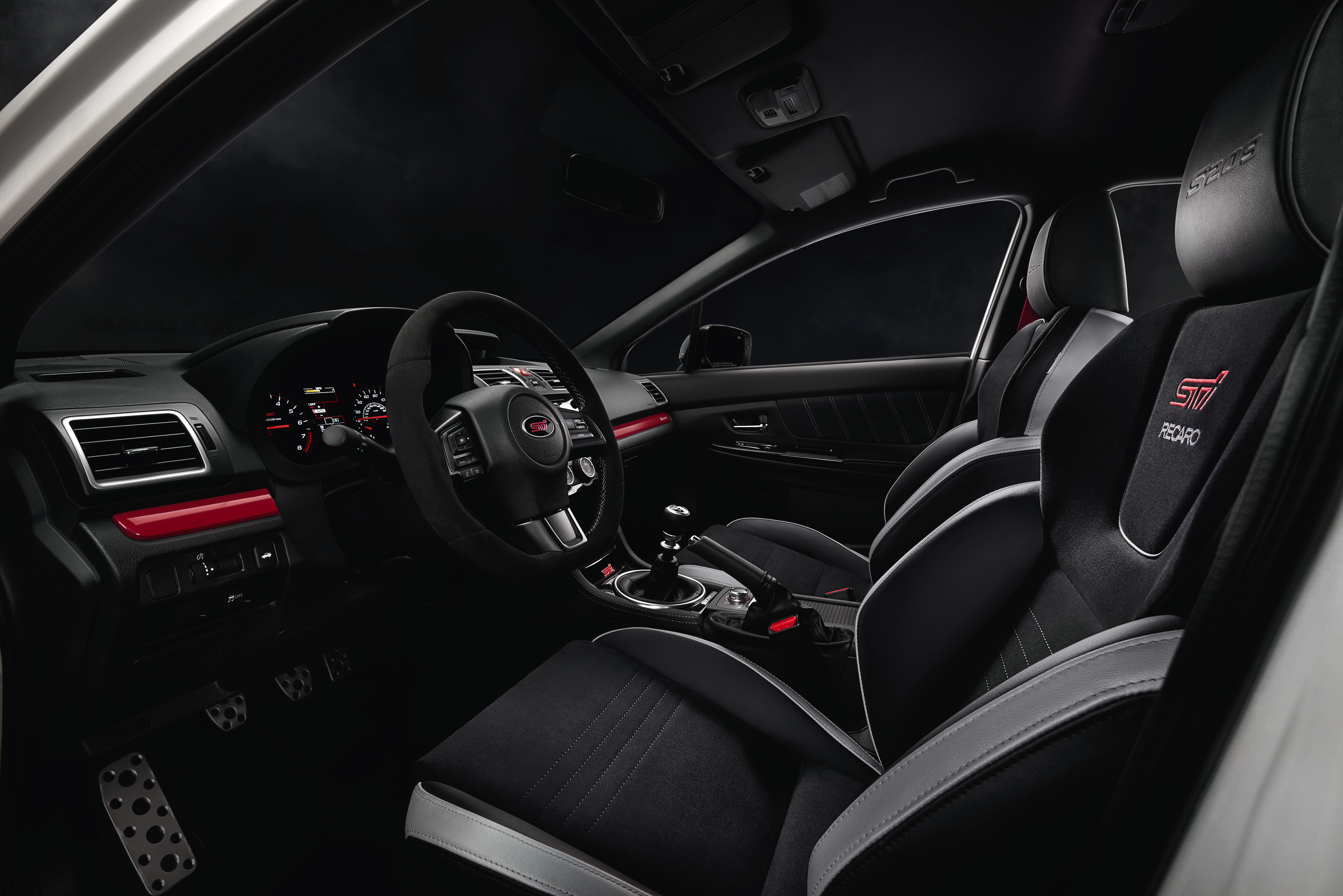 subaru sti wrx s209 interior limited edition tecnica hp international units ready upgrades powerful ever race unleashes debuts speed horsepower