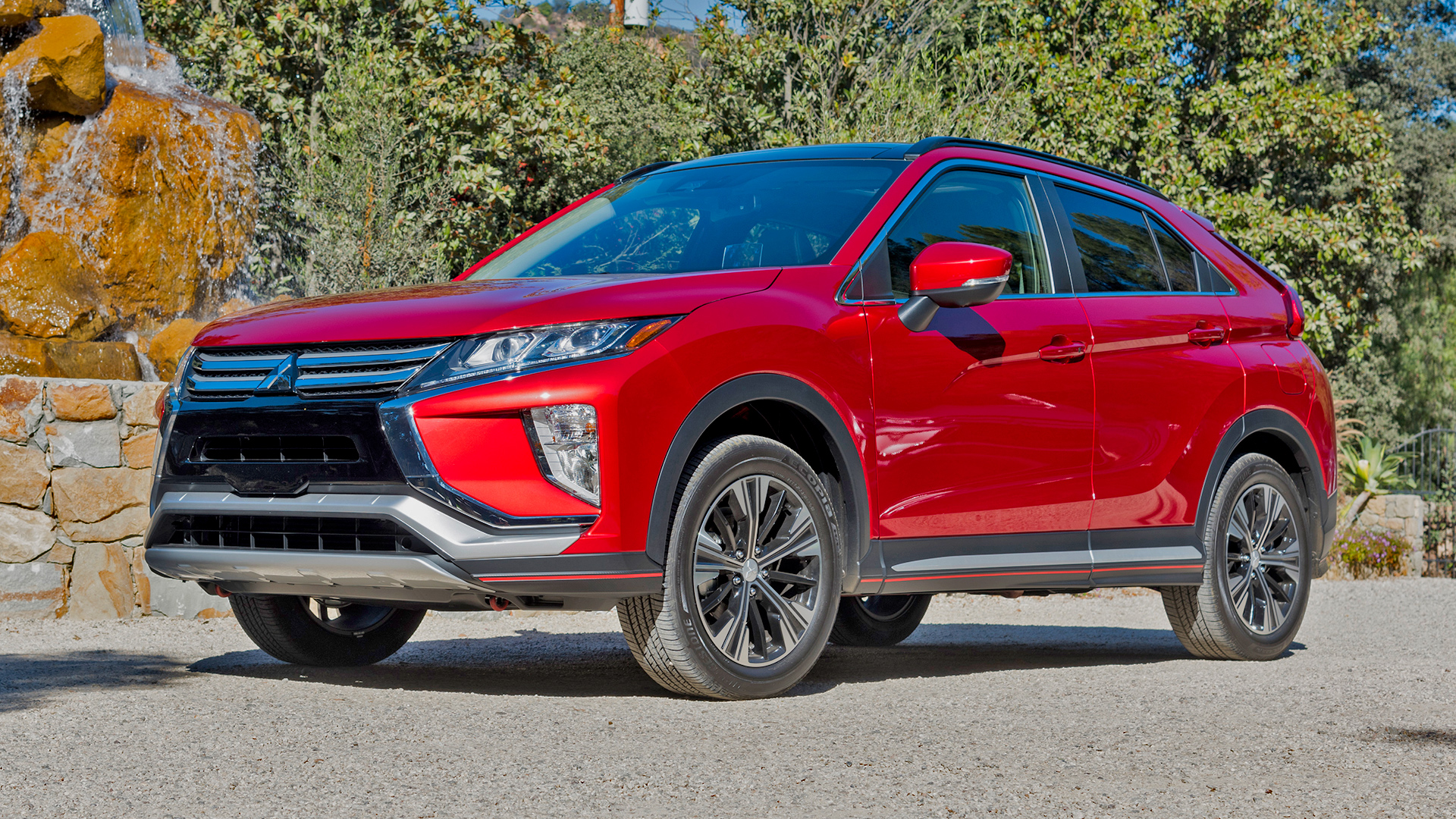 The Eclipse Cross, which isn't so bad the more you look at it