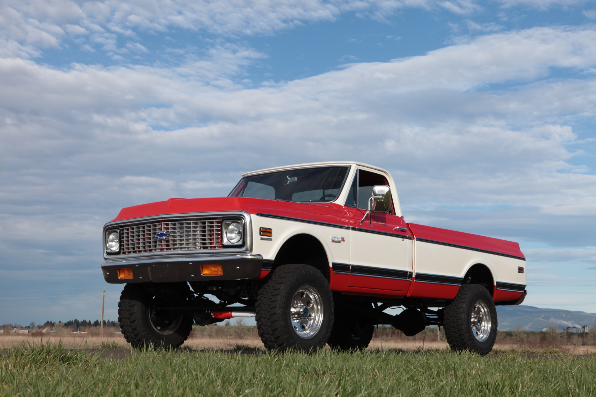This 1972 Chevy Cheyenne Powered By A Supercharged Ls V 8 Is The