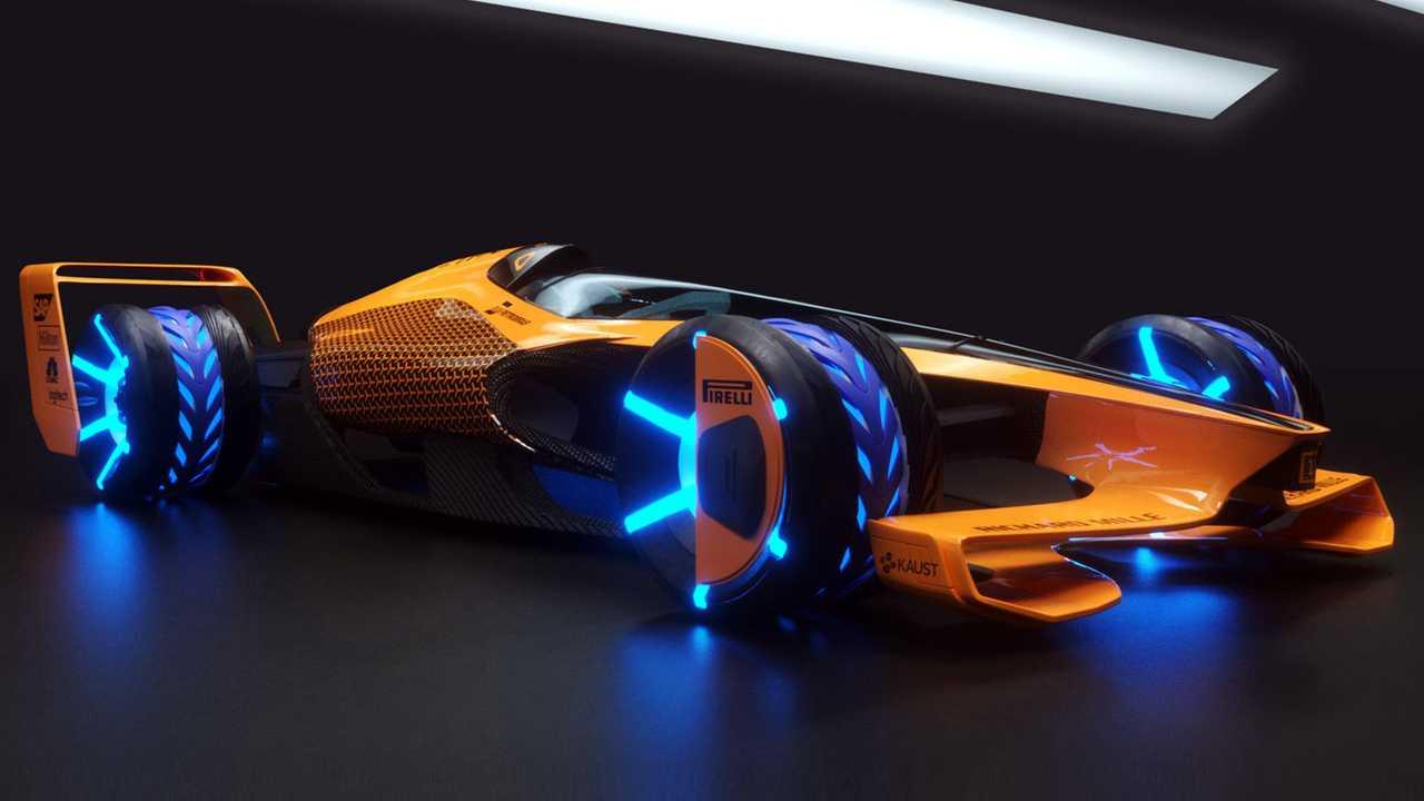 Mclaren Showcases 2050 F1 Car Concept That Goes 300 Mph