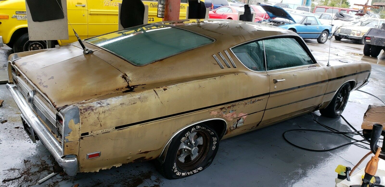 This Rotting 1969 Ford Torino GT Cobra Jet Could Sell for