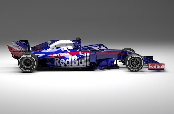 Toro Rosso's 2019 STR14 from every angle