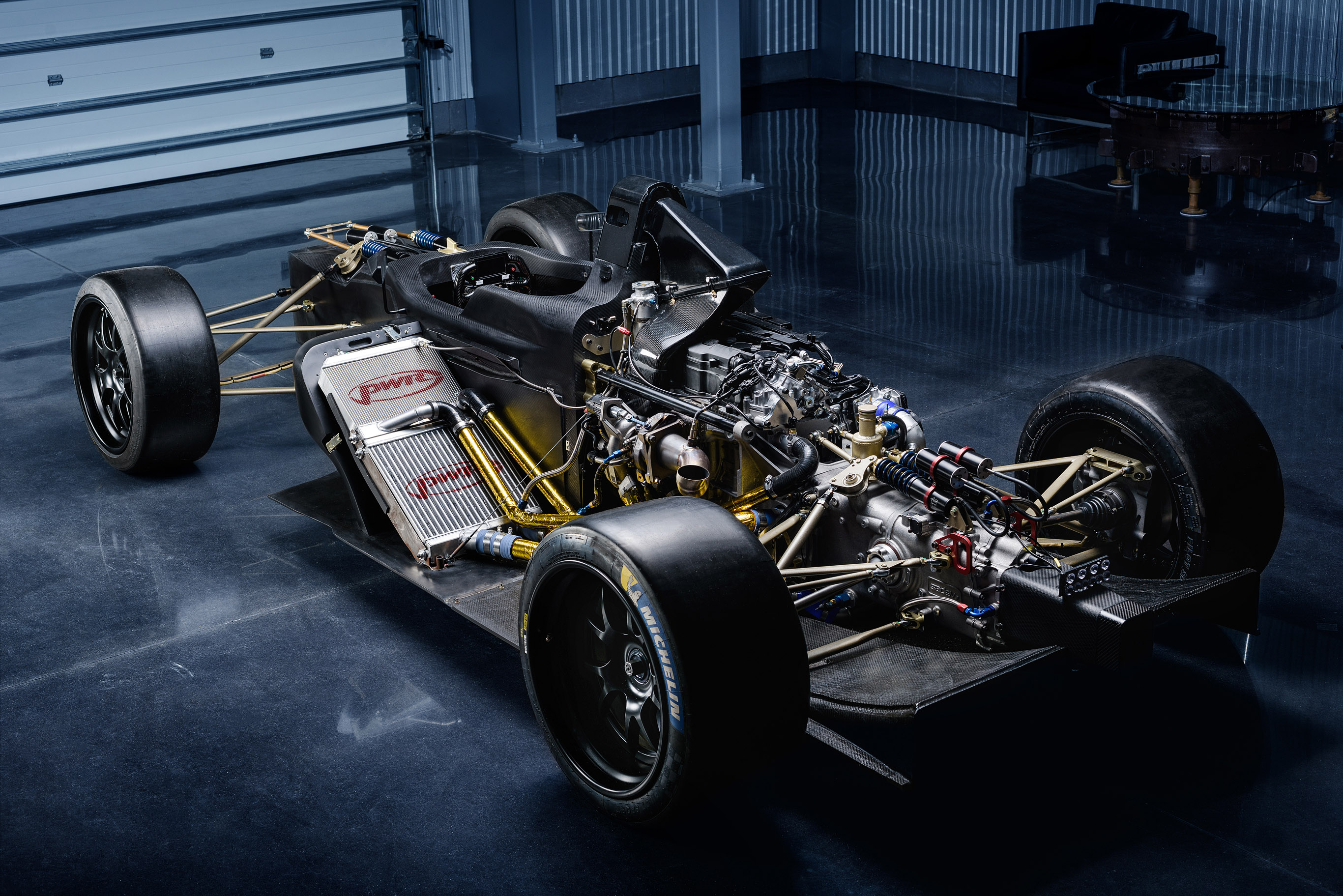The Vandal One chassis mule