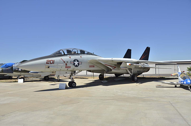 F-14A #159631 at Gillespie Field in El Cajon, California.