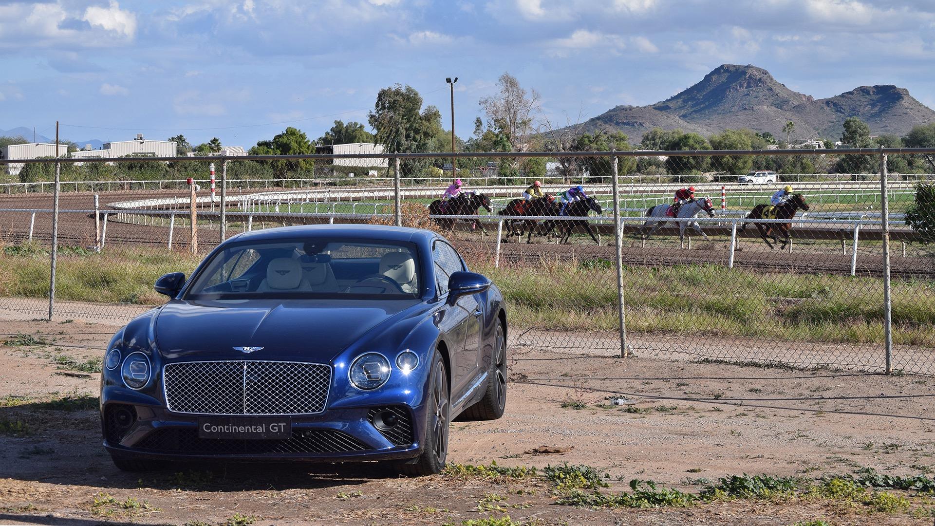 Bentley Continental GT arizona desert self driving cars