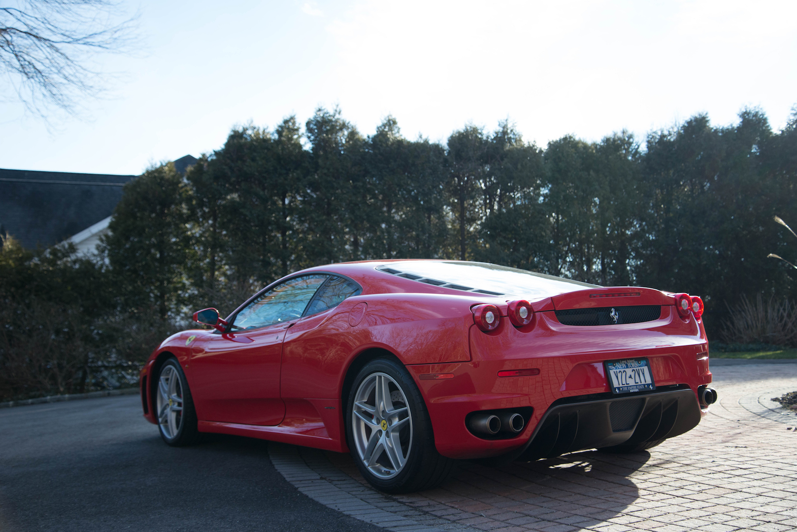 donald trump 39 s ferrari f430 is heading to auction the drive. Black Bedroom Furniture Sets. Home Design Ideas