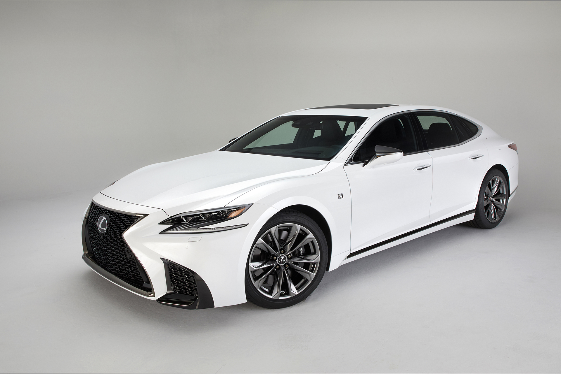 this is the 2018 lexus ls 500 f sport the drive. Black Bedroom Furniture Sets. Home Design Ideas
