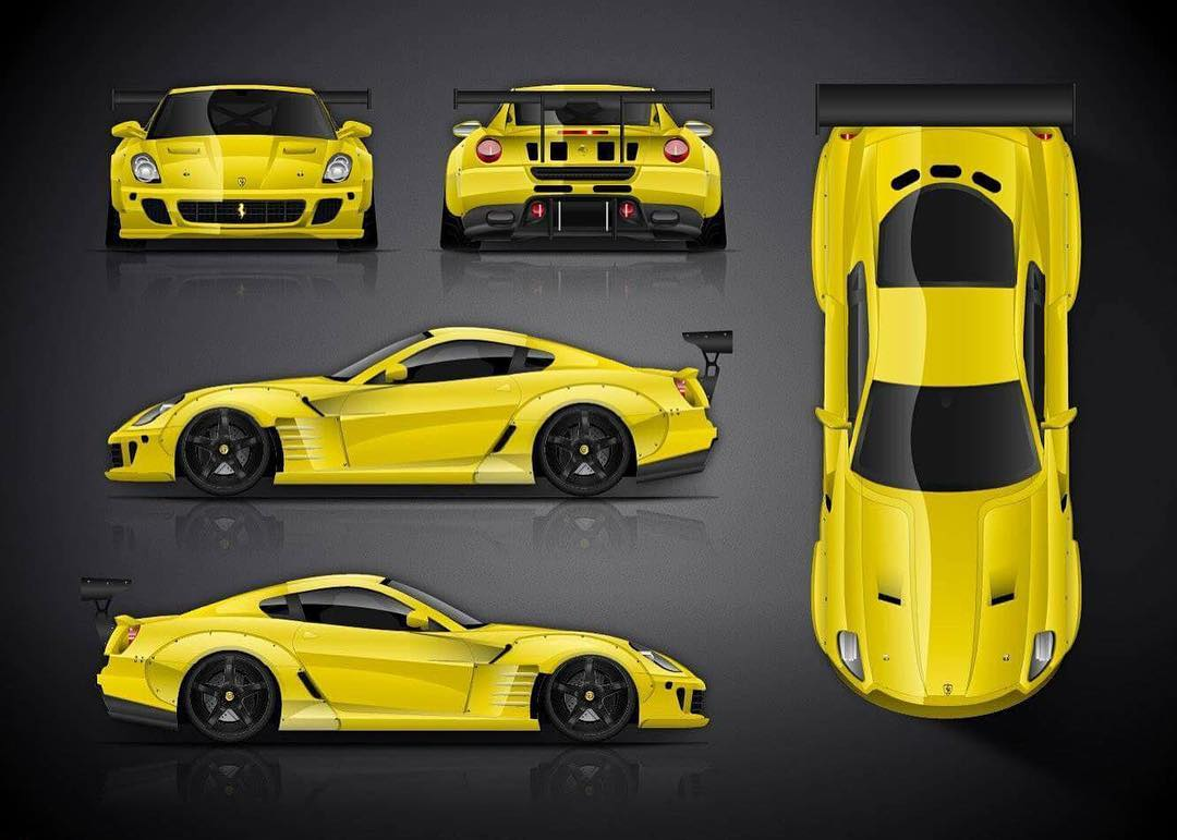 federico sceriffo may reveal ferrari 599 for next formula drift season the drive. Black Bedroom Furniture Sets. Home Design Ideas