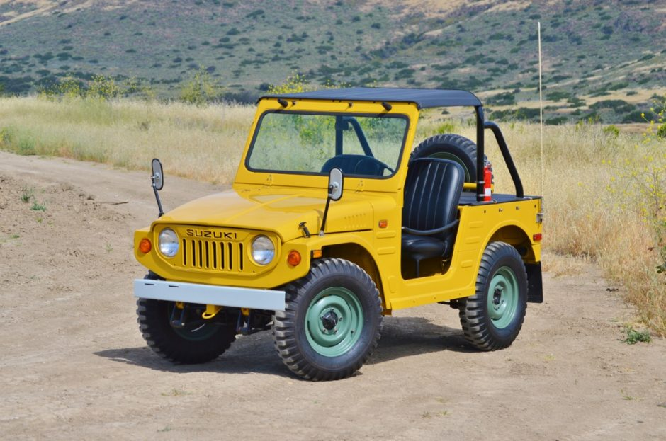 this suzuki jimny is the cutest kei off roader the drive. Black Bedroom Furniture Sets. Home Design Ideas
