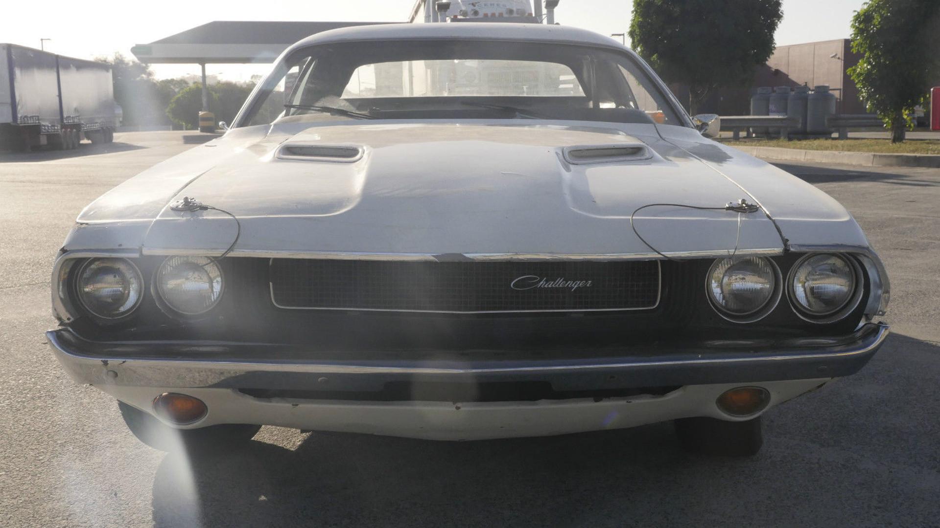 Garage find 1971 dodge challenger from tarantino 39 s death for Ebay motors dodge challenger