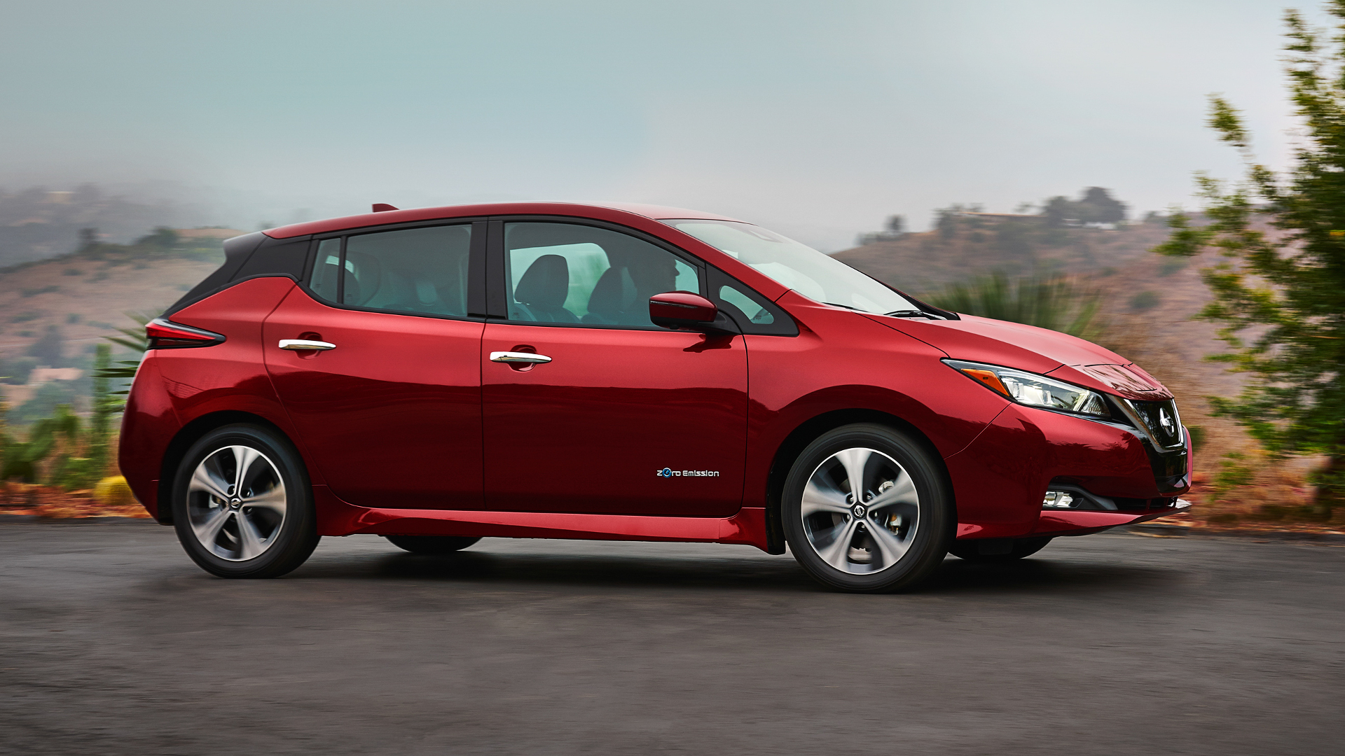 this is the all new 2018 nissan leaf the drive. Black Bedroom Furniture Sets. Home Design Ideas