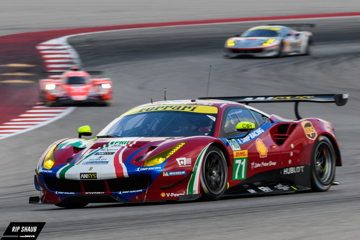 The GTE Cars of the WEC Lone Star Le Mans - The Drive