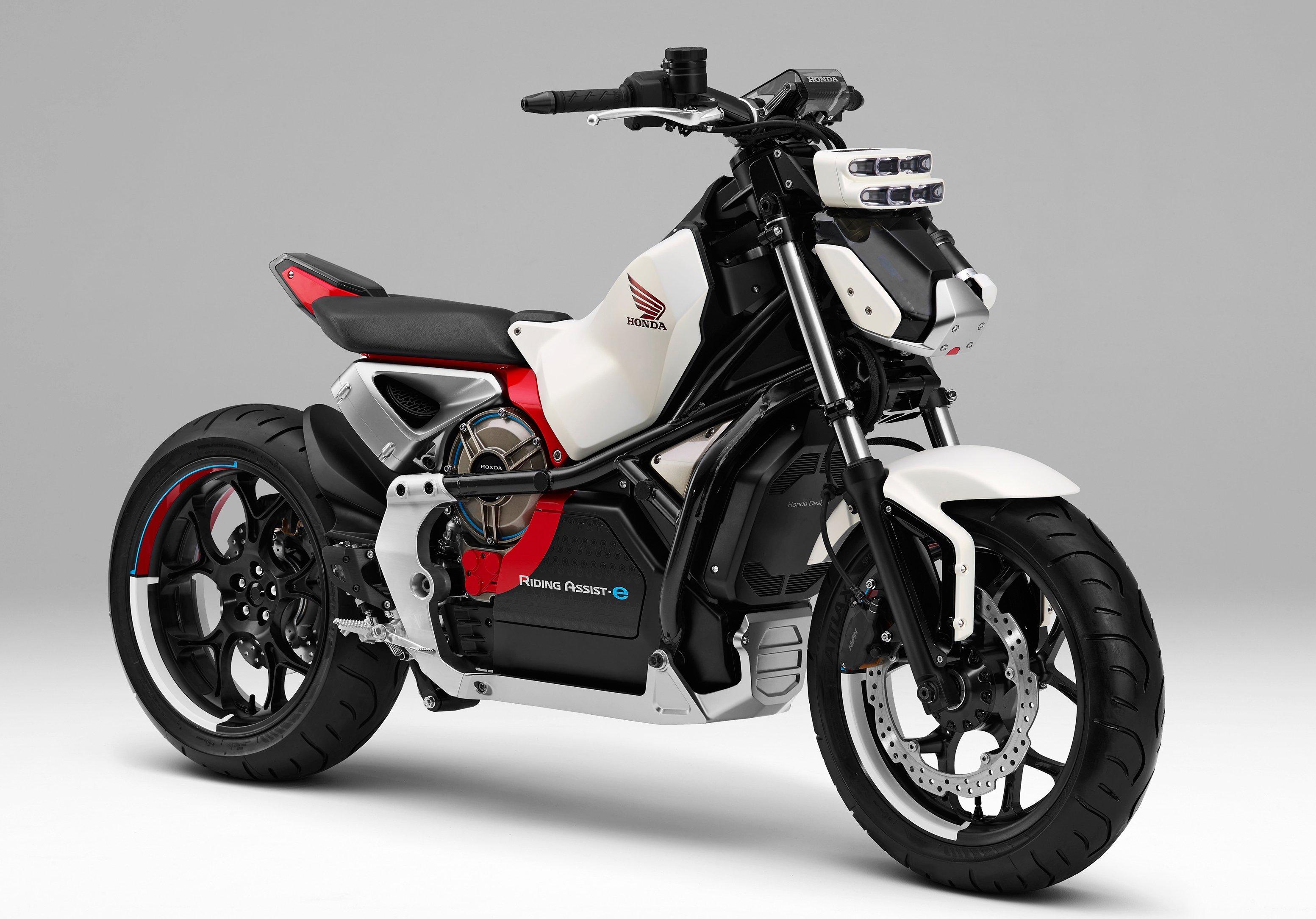 Honda bringing a self balancing electric motorcycle to for South motors honda us1