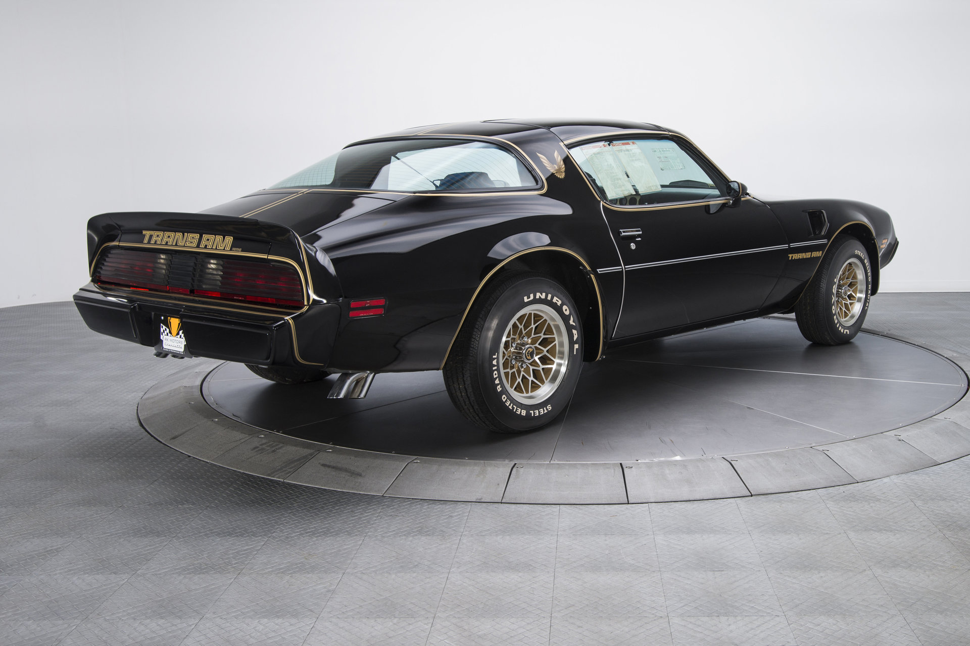 this pristine 1979 pontiac trans am has traveled just 65 miles since new the drive. Black Bedroom Furniture Sets. Home Design Ideas