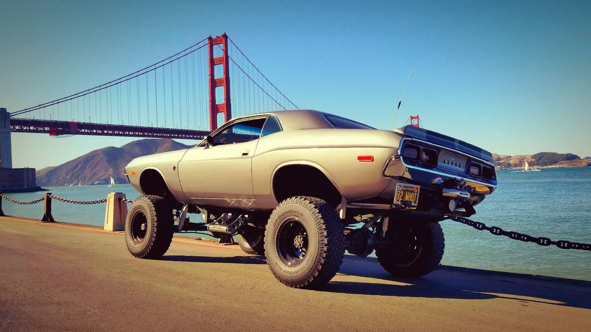 grow a pair and buy this lifted 1972 dodge challenger the drive. Black Bedroom Furniture Sets. Home Design Ideas