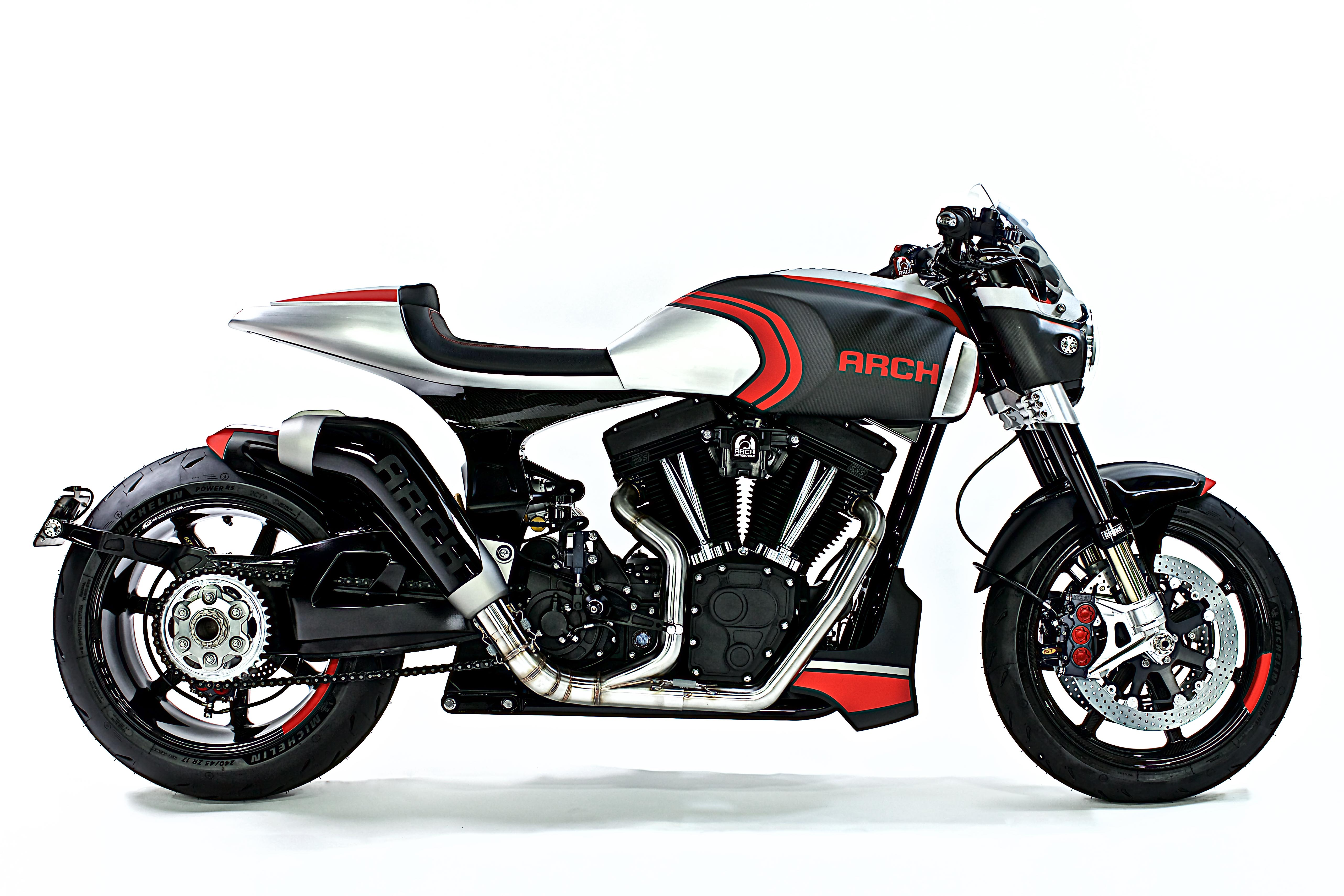 arch 1s motorcycle krgt motorcycles 143 method concept eicma bikes facts fast specs drive side custom cruiser pricing fiber carbon