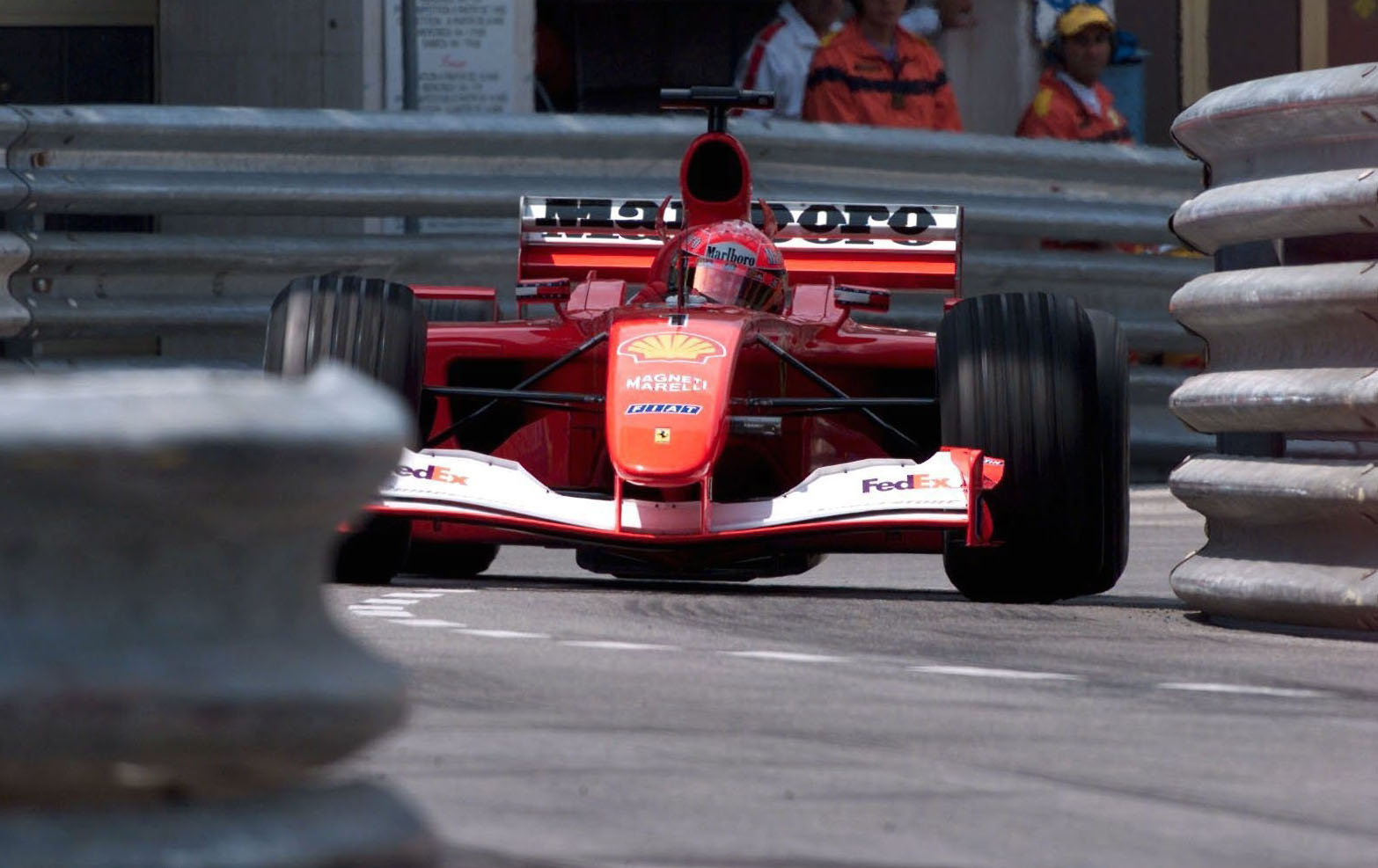 Michael Schumacher S Final Monaco Winning Ferrari Sells For 7 5 Million