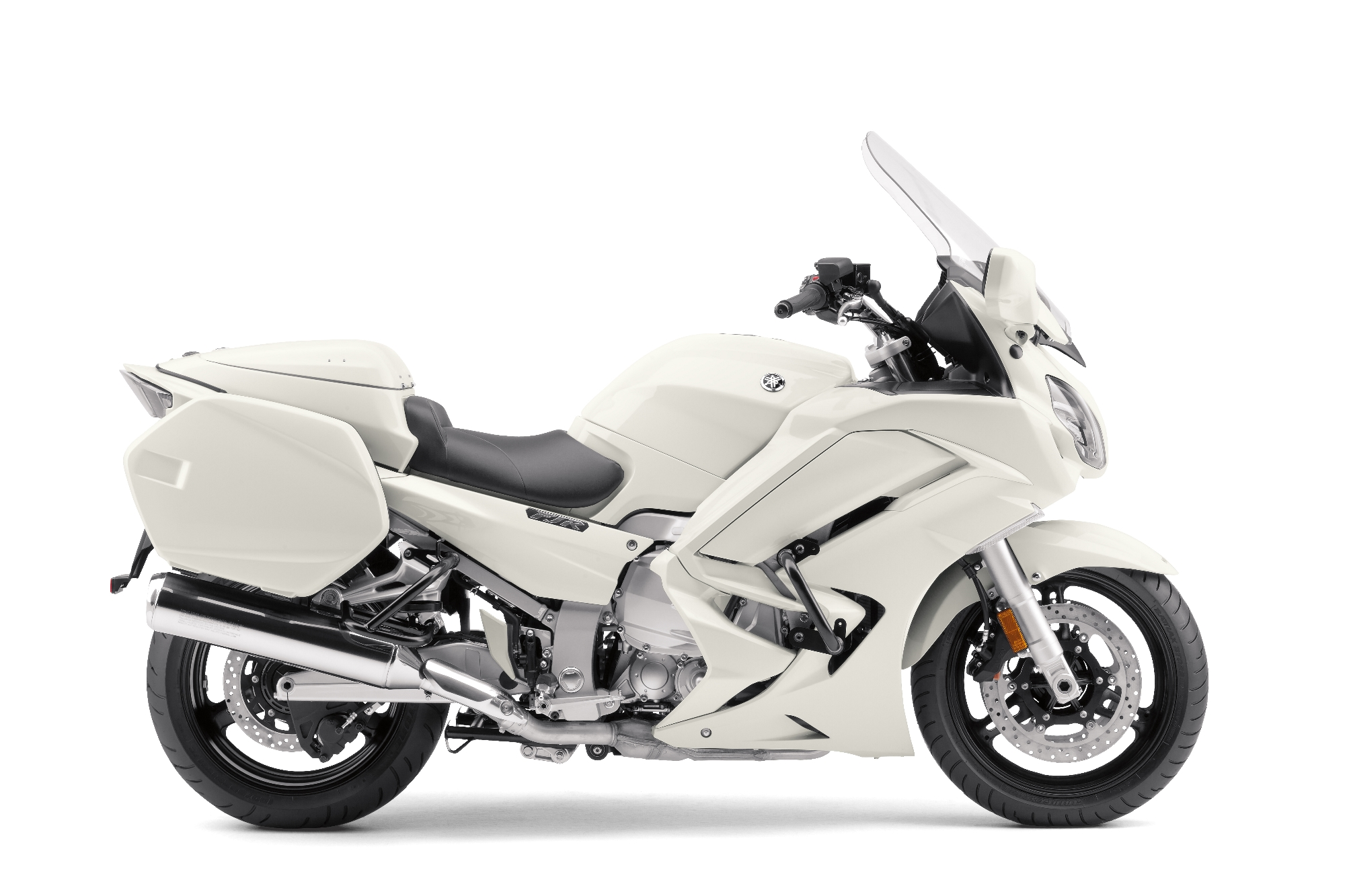 Yamaha is bringing the fjr1300p police motorcycle to the u for Yamaha 1300 motorcycle