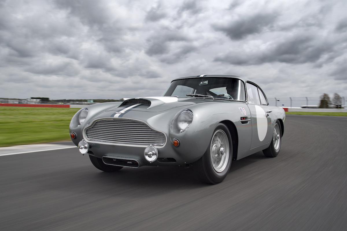 aston martin hosts track day for db4 gt continuation cars the drive. Black Bedroom Furniture Sets. Home Design Ideas