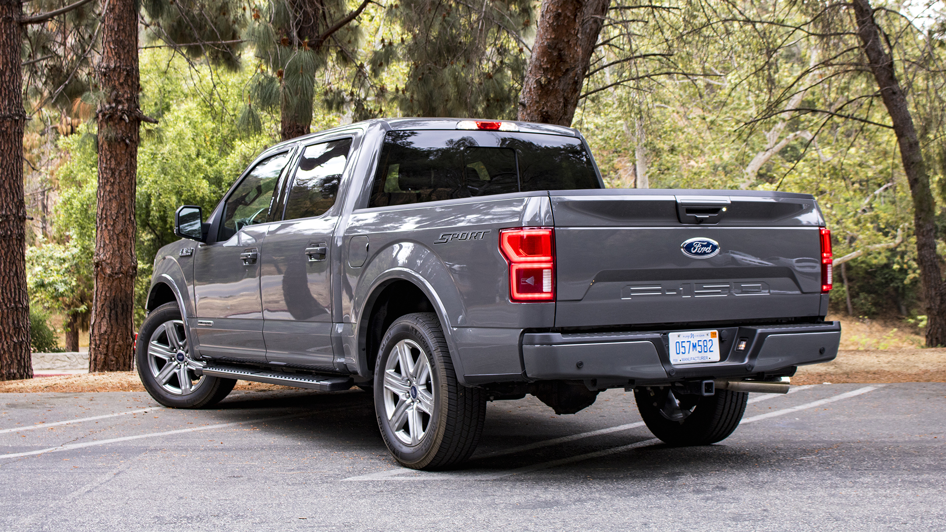 2018 ford f 150 diesel review how does 850 miles on a. Black Bedroom Furniture Sets. Home Design Ideas