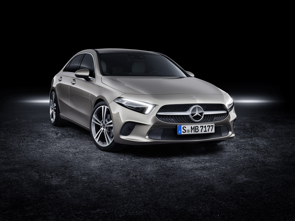 Mercedes a class saloon 2018 united kingdom specs and for Mercedes benz a class usa