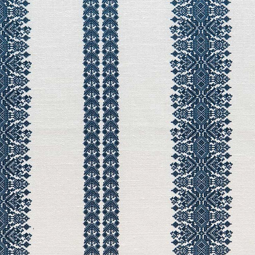 Cycladic Stripe in Cobalt