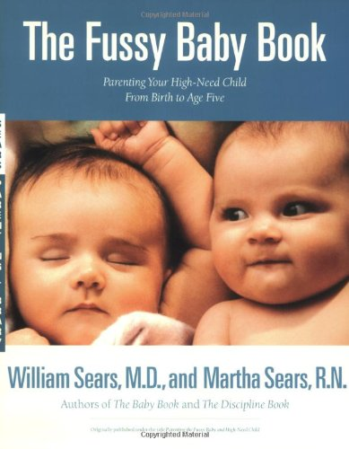 The Fussy Baby Book cover