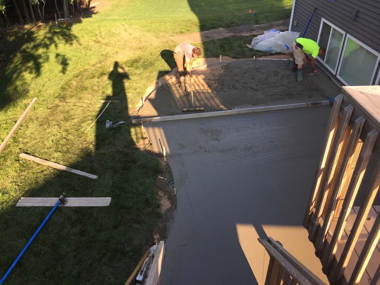 Flattening the Concrete
