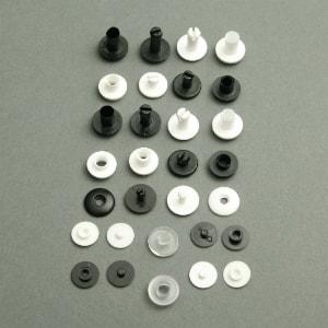 Plastic Press Fasteners: Press Fasteners & Studs