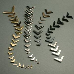 protège-coins métal