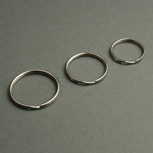 anelli per chiavi