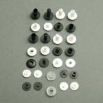 plastic press fasteners