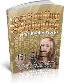 List Building Strategies