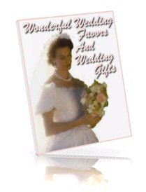 Wonderful Wedding Favors And Wedding Gifts