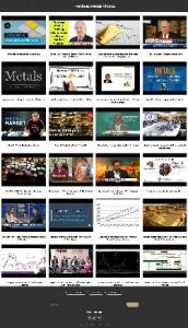Precious Metals Instant Mobile Video Site