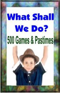 500 Games And Pastimes