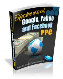 Effective Use Of Search Engine And PPC