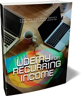 Udemy For Reccuring Income
