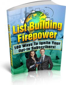 List Building Firepower